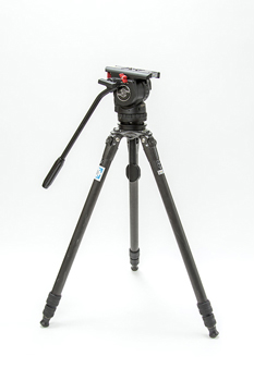 sachtler FSB6 75Φ+GIZTO カーボン製3段脚