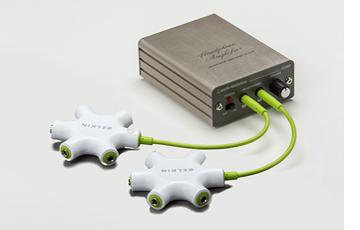 最大10出力可能マルチイヤホンスプリッター+ヘッドホンアンプ+延長ケーブル